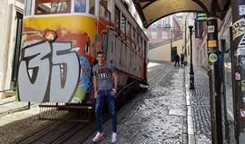 Arte urbana lisboeta encanta Raúl Jiménez