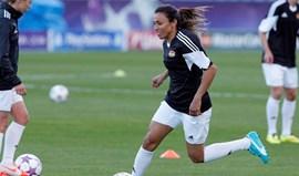 Futebolista brasileira Marta obtém a naturalização sueca