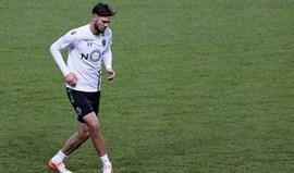 Spalvis voltou por vontade do Sporting