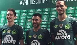 Chapecoense apresenta nova camisola para a Taça Libertadores