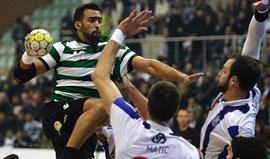 Sorte foge ao Sporting na fase final da 1.ª Divisão