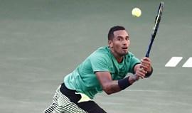 Nick Kyrgios falha duelo com Federer em Indian Wells