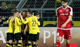 Borussia Dortmund abre jornada com vitória tangencial