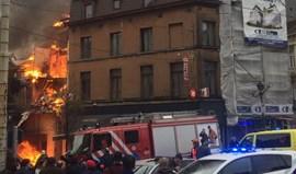 Um morto, sete feridos e um desaparecido em explosão seguida de incêndio em Bruxelas