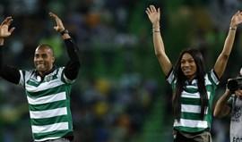 Nelson Évora e Patrícia Mamona ovacionados em Alvalade