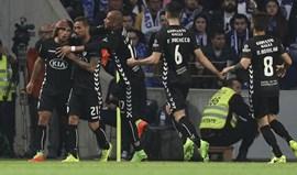 A crónica do FC Porto-V. Setúbal, 1-1: Balde de água gelada