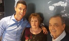 Ronaldo visita amigos em Lisboa