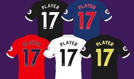 Camisolas da Premier League com mudanças para 2017/18