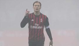AC Milan sem Abate até final da época