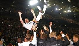 Podolski e a despedida memorável da seleção