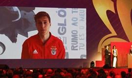 Lindelöf espera estar à altura do prémio recebido