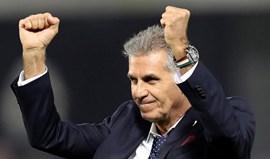 Queiroz diz ter sido insultado pela equipa técnica do Qatar