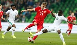 Rússia perde em casa (0-2) com a Costa do Marfim