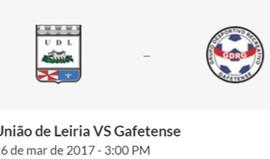 U. Leiria-Gafetense (Campeonato de Portugal Prio)