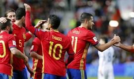 Grupo G: Espanha goleia Israel e continua na frente