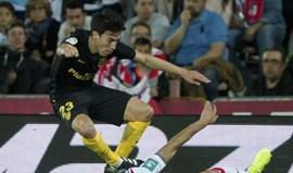 Gaitán de saída do Atlético Madrid caso não suba de rendimento