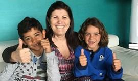 Dolores Aveiro muito bem acompanhada no apoio à Seleção Nacional
