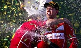 Vettel: «Título? Por enquanto só estamos na lua...»