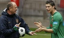 Luiz Felipe Scolari compara Renato Gaúcho a... Cristiano Ronaldo
