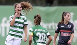 Golo de Tatiana Pinto frente ao Clube Albergaria eleito o melhor de fevereiro
