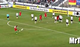 O golaço de Bruno Fernandes à Alemanha