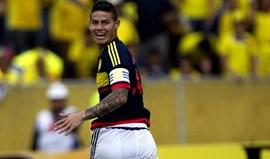Colômbia ganha e ascende ao segundo lugar