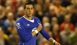 Funes Mori sofre lesão no menisco e falha resto da temporada
