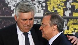 Florentino Pérez terá pago criação de site para pressionar Ancelotti