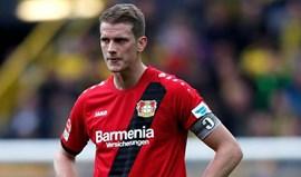 Lars Bender ausente até final da temporada