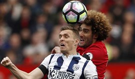 Manchester United-West Bromwich, 0-0