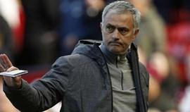 José Mourinho zangado com os avançados: «Tinham de marcar e não o fizeram»