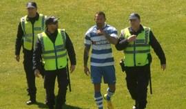 PSP confirma que jogador do Canelas foi detido no relvado