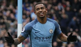 Gabriel Jesus regressa aos treinos do Manchester City
