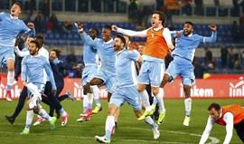 Lazio na final da Taça de Itália apesar da derrota no dérbi