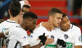 PSG 'avia' Avranches, por 4-0, e fica à espera do Monaco na meia-final da Taça
