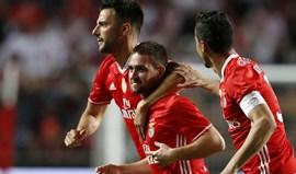 Zivkovic festeja primeiro golo