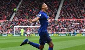 Manchester United renova com Jesse Lingard até 2021