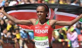 Campeã olímpica da maratona acusa positivo em teste antidoping