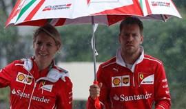 Vettel com confiança moderada