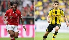 Bayern Munique-Borussia Dortmund: Clássico a duas velocidades