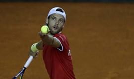 Taça Davis: João Sousa distinguido com o Davis Cup Commitment Award
