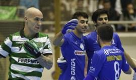 OC Barcelos arranca empate ao Sporting, com 4 golos nos 3 minutos finais