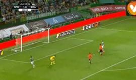 Erro de Edu Machado e Bas Dost a fazer um dos golos mais fáceis da época