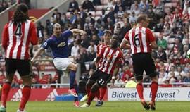Sunderland-Manchester United, 0-3