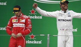 Vettel diz que o 'Safety car' o impediu de dar luta a Hamilton
