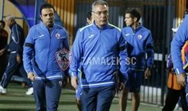 Egito: Augusto Inácio estreia-se no Zamalek com derrota