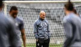 Zinedine Zidane: «Se Coentrão está aqui, claro que pode ser utilizado»