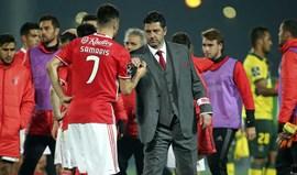 Rui Vitória: «Samaris? Só acontece isto porque é um jogador do Benfica que está em causa»