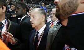 Presidente do Lyon pede jogo à porta fechada na 2.ª mão frente ao Besitkas