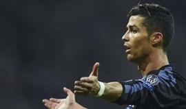 Ronaldo fica de fora na visita ao Gijón